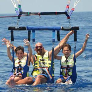 barre de parachute ascensionnel triple