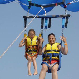 barre de parachute ascensionnel double