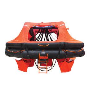 radeau de survie pour navire / hauturier / SOLAS / à déploiement par bossoir