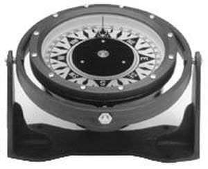 compas de route pour bateau / magnétique / horizontal / sur étrier