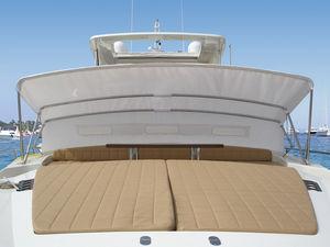 Bimini top pour bateau / pour cockpit / structure en acier inoxydable