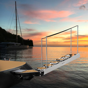 échelle pour yacht
