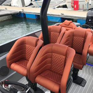 siège pilote / pour bateau / avec accoudoirs / électrique