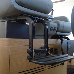 pied pour siège pilote pour bateau