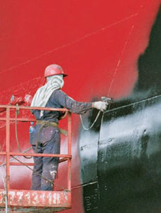 revêtement antifouling pour navire de commerce / pour bateau professionnel / auto polissant / multiusage