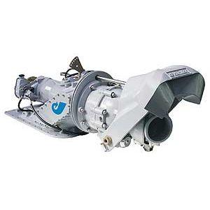turbine hydrojet pour bateau de travail / pour bateau de surveillance