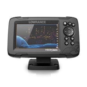 sondeur de pêche / sonar / GPS / pour bateau