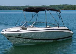Bimini top pour bateau à moteur / pour cockpit / structure en aluminium