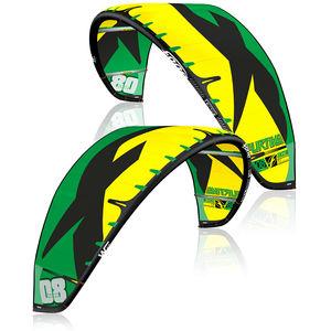 aile de kitesurf hybride / à caissons / de race / hangtime