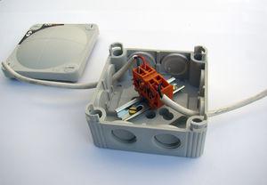 boîte de jonction électrique / pour bateau