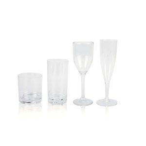verre en polycarbonate / en cristal / à vin