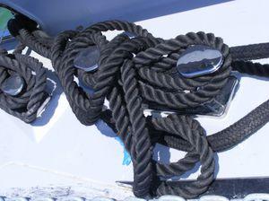 taquet d'amarrage pour voilier
