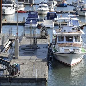 station essence flottante pour port / eau douce / pour marina