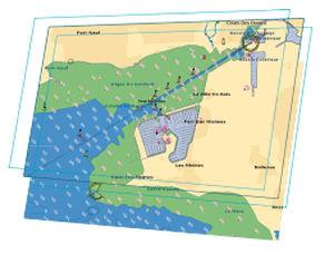 carte marine numérique