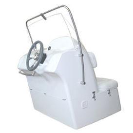 console de pilotage centrale / avec dossier / avec siège avant / 2 places