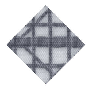tissu à voile laminé taffetas double face