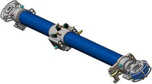 système hydraulique pour mât pendulaire