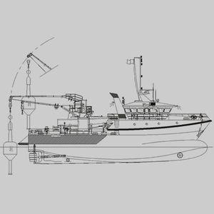 navire polyvalent baliseur / côtier