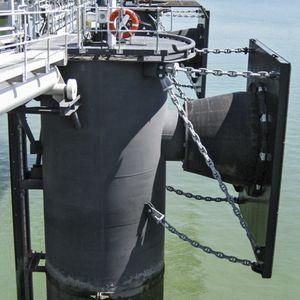 défense pour port / marine / de quai / conique