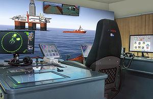 simulateur de navigation