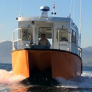 bateau professionnel bateau d'étude hydrographique / in-bord