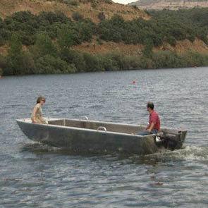 bateau professionnel bateau de recherche océanographique / hors-bord / en aluminium