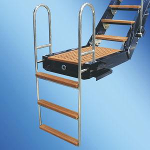 échelle pour bateau / pour yacht / escamotable / de baignade