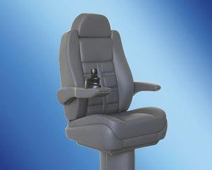 siège pilote / pour bateau / avec accoudoirs / à dossier haut