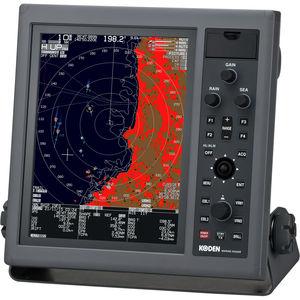 radar pour navire / ARPA / couleur / avec AIS