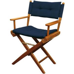 chaise standard pour bateau / pliante / en teck