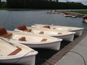 bateau d'aviron traditionnel