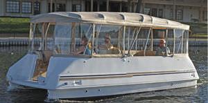 bateau ponton électrique