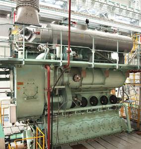 moteur lent pour navire / diesel / Tier 3