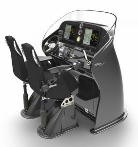 console de pilotage jockey
