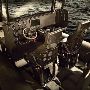 siège pilote / baquet / d'opérateur / pour navire