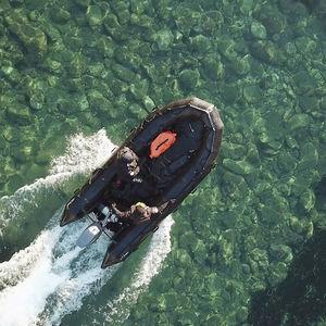 bateau professionnel bateau militaire / hors-bord / transportable / bateau pneumatique pliable