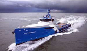 navire de service offshore de transport de personnel / à grande vitesse