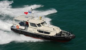 bateau professionnel bateau de transport de personnel / in-bord hydrojet / en aluminium