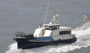 bateau professionnel bateau de transport de personnel / in-bord / en aluminium