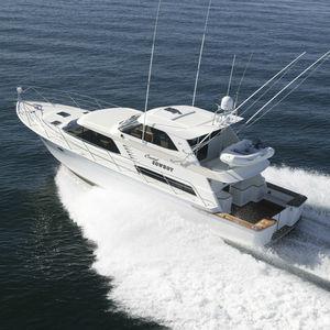 motor-yacht de charter / de pêche sportive / à fly fermé / ligne d'arbre