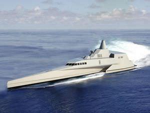 navire spécial de surveillance / à grande vitesse / trimaran