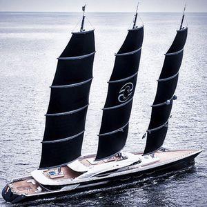 sailing-superyacht de croisière / à fly / 3 mâts