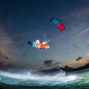 aile de kitesurf C-shape / de freeride / de vagues / de freestyle