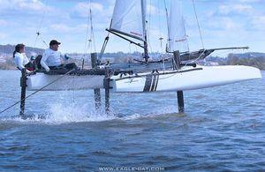 catamaran de sport à foil