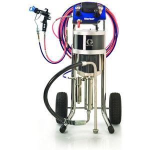 machine de pulvérisation de peinture mobile