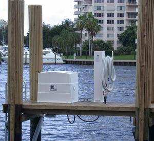 borne de pompage pour marina / avec pompe péristaltique / pompe à membrane / pompe à vide