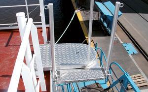 plateforme pour navire / flottante
