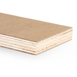 panneau sandwich décoratif / balsa / bois contreplaqué / pour yacht
