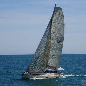 voilier de croisière rapide