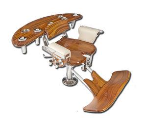 chaise de combat en teck